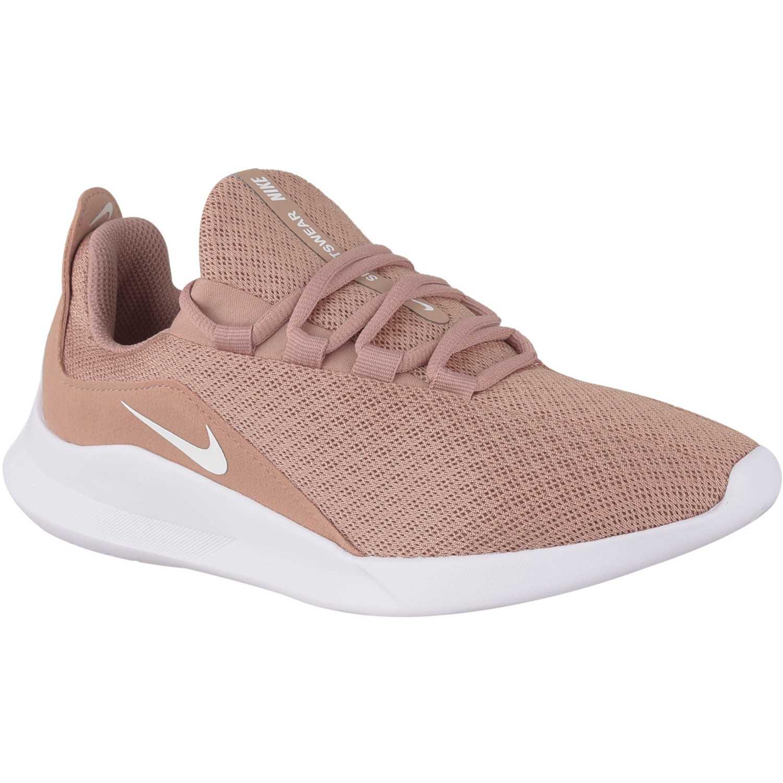 rico y magnífico lindos zapatos diseño novedoso Casual de Mujer Nike Melon / blanco wmns nike viale ...