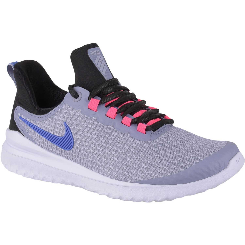 Zapatilla de Mujer Nike Gris / negro w nike renew rival