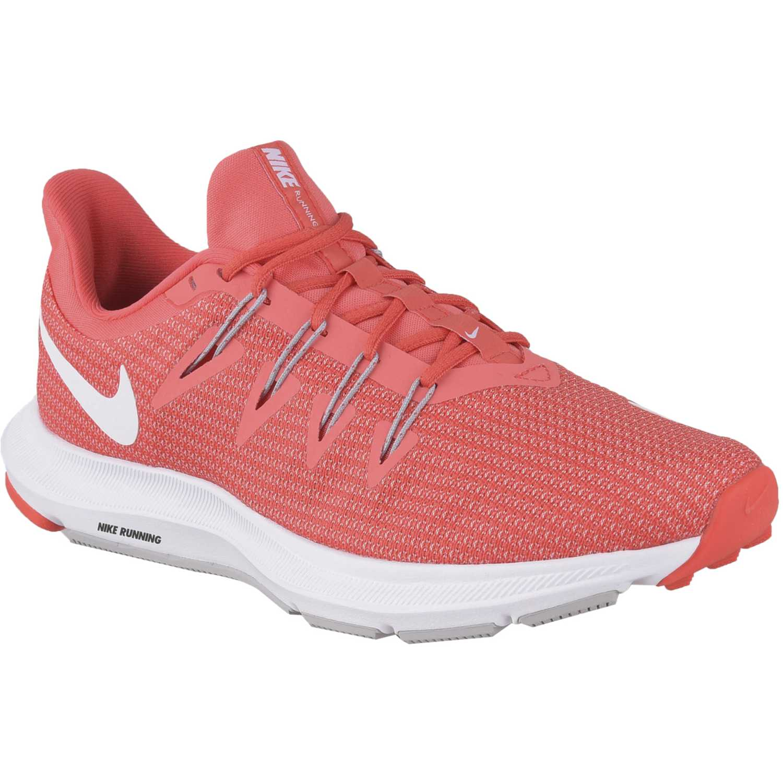 Nike wmns nike quest Naranja / blanco Running en pista