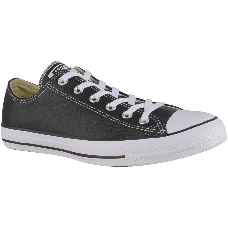 Converse ctas leather ox Negro / blanco Walking