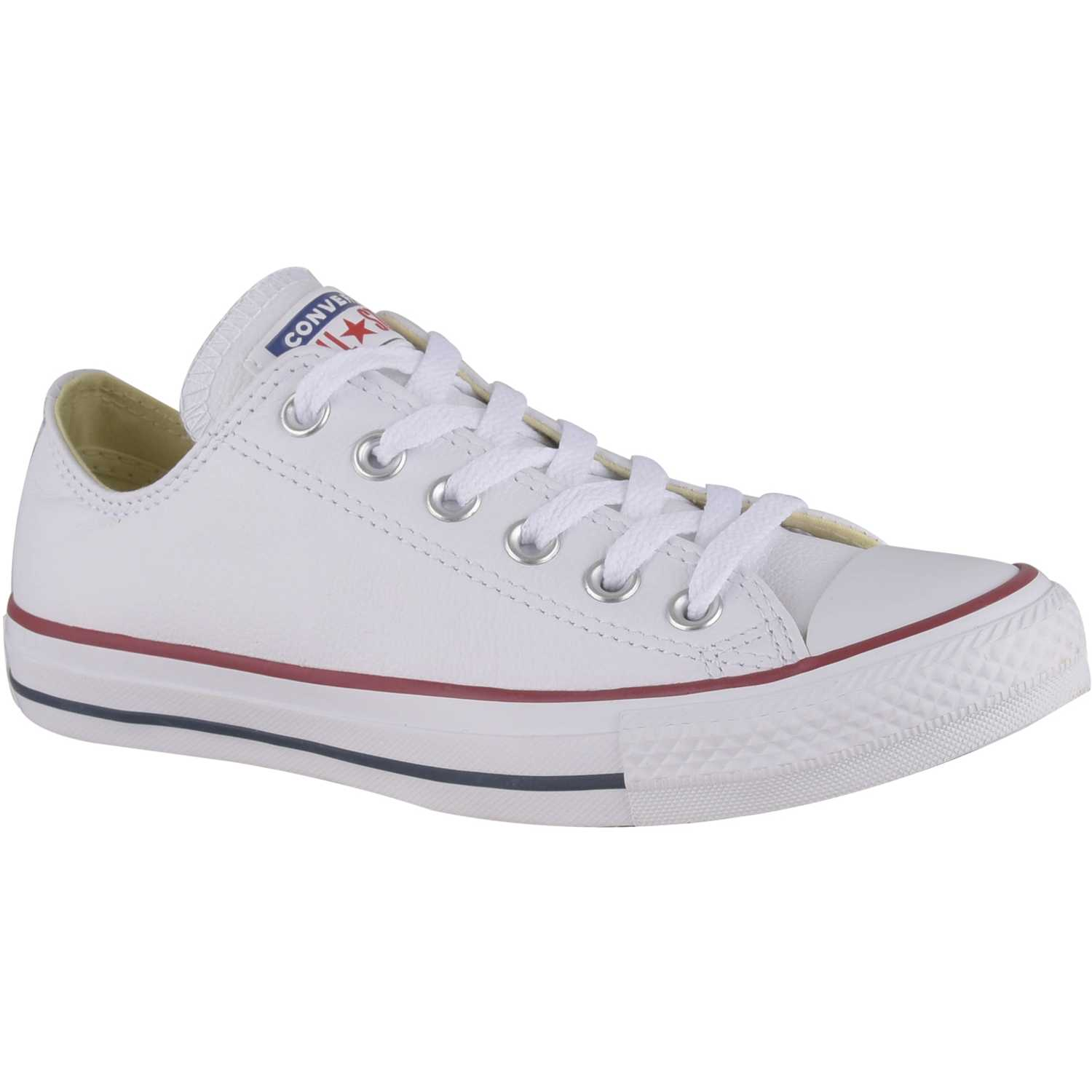 Zapatilla de Jovencita Converse Negro / blanco ctas leather ox