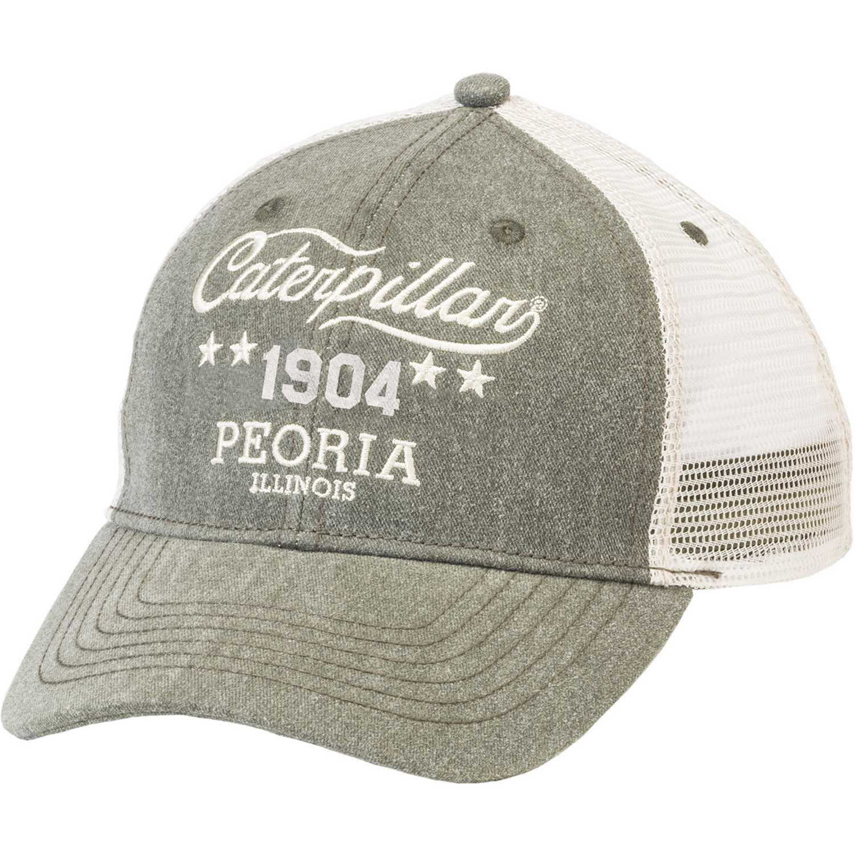 Gorros de Hombre CAT Verde athletic department hat