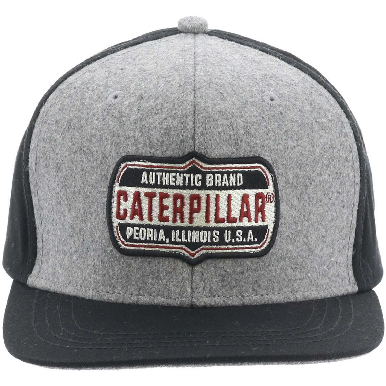 Gorros de Hombre CAT Gris / negro brand patch hat