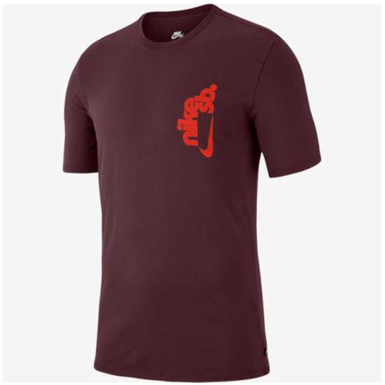 Nike m nk sb tee vertical dye Vino Polos