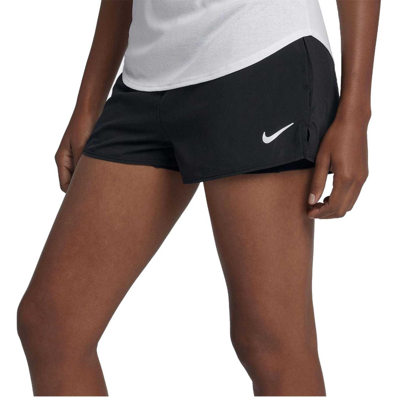 Nike W Nkct Flex Short Negro Shorts deportivos