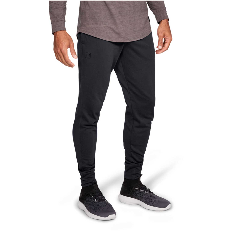 Under Armour Rival Jersey Jogger-Blk Negro Pantalones deportivos