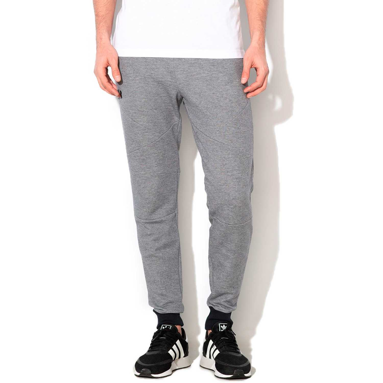 Under Armour unstoppable 2x knit jogger-gry Gris / negro Pantalones Deportivos
