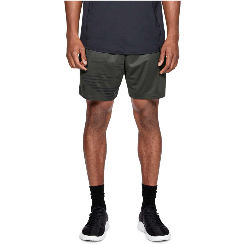 Under Armour mk1 7in short camo print-grn Plomo / negro Shorts Deportivos