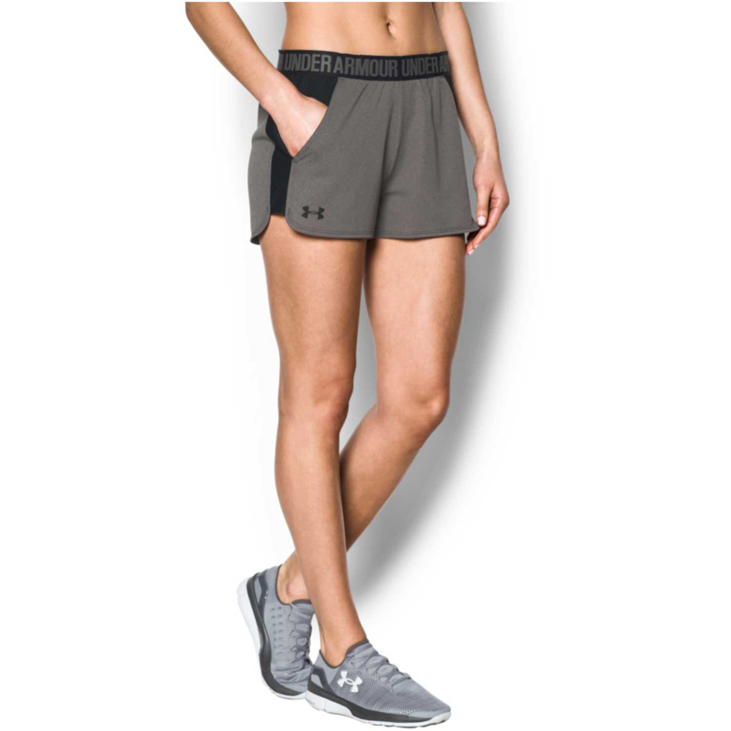 Under Armour new play up short Gris / azul Shorts Deportivos