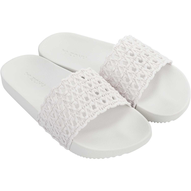 Zaxy Snap Mesh Slide Fem Blanco Slides