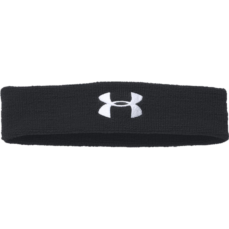 Under Armour ua performance headband Negro / blanco bandas para la cabeza