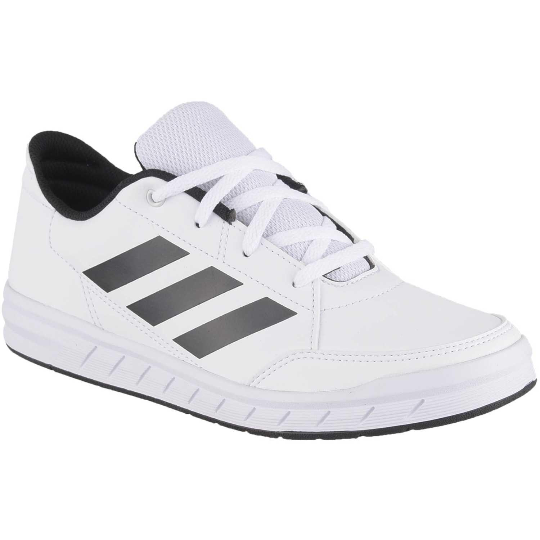 Deportivo de Jovencito Adidas Blanco / negro altasport k