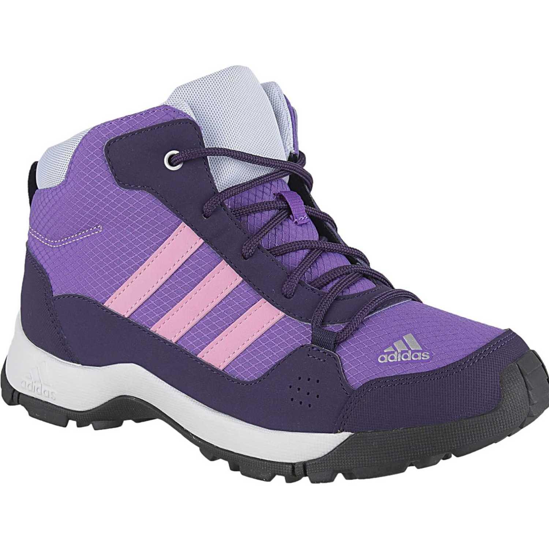 Adidas hyperhiker k Morado / azul Botas de montaña