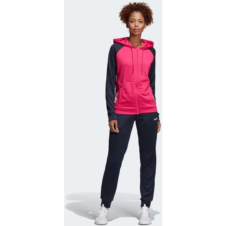 Deportivo de Mujer Adidas Plomo / rosado wts lin ft hood