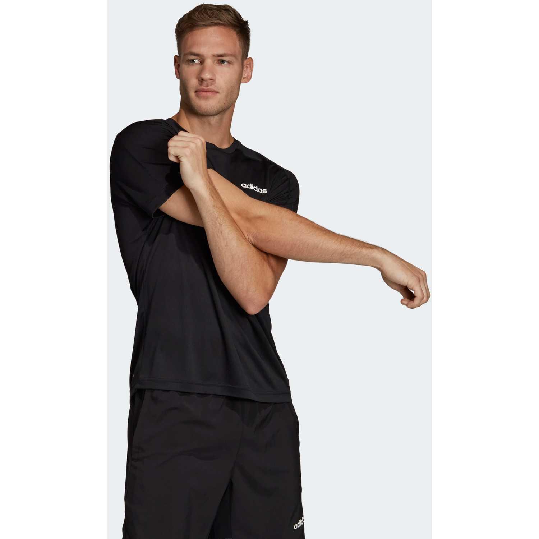 Adidas D2M Tee Negro Camisetas y Polos Deportivos