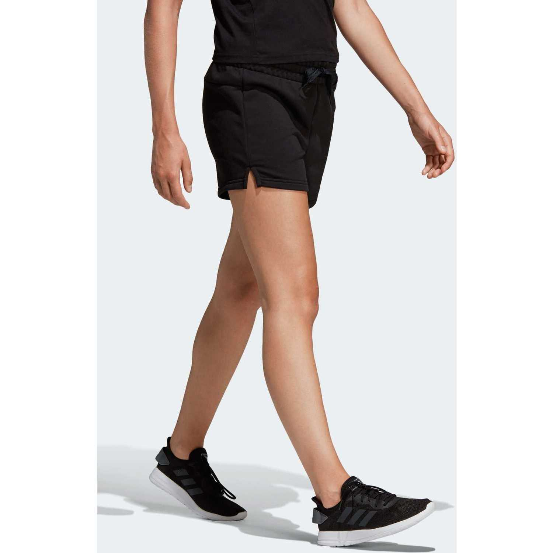 Short de Mujer Adidas Negro / blanco w e lin short
