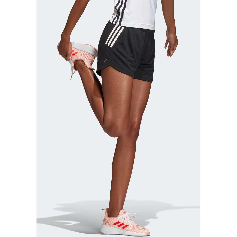 Adidas w d2m 3s kt sht Plomo Shorts Deportivos