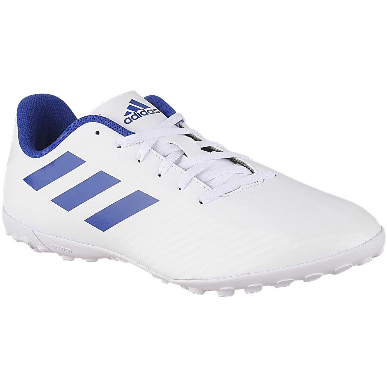 Zapatilla de Hombre Adidas Blanco / azul artilheira iii tf