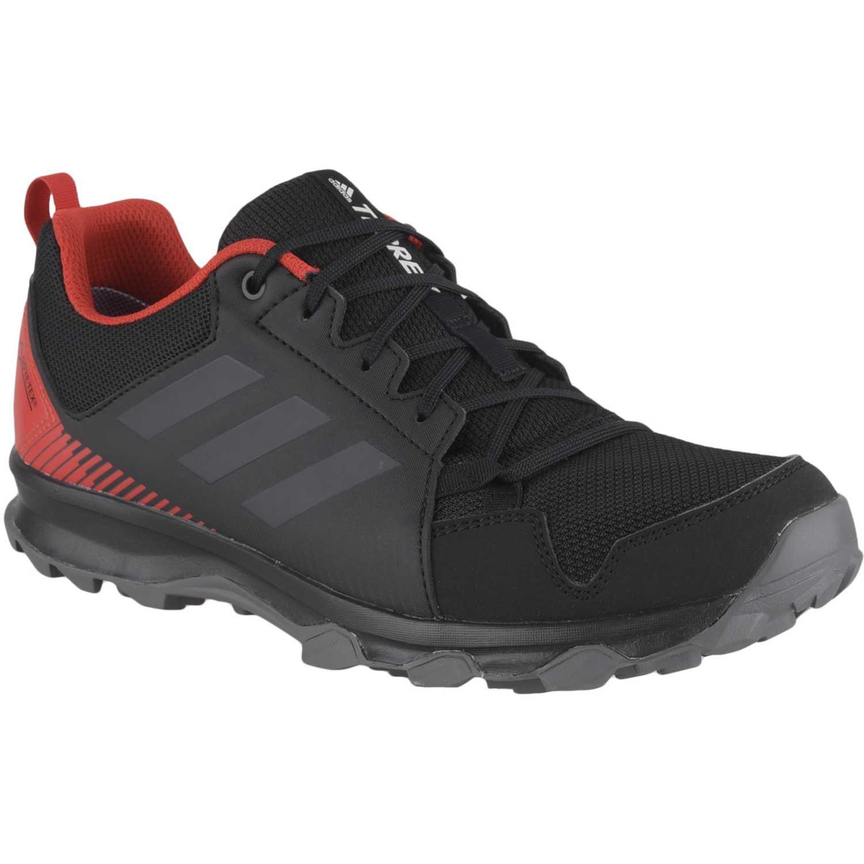 Adidas Terrex Tracerocker Gtx Negro / rojo Zapatos de senderismo