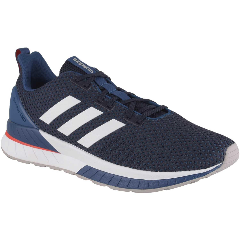 Adidas questar tnd Azul Running en pista