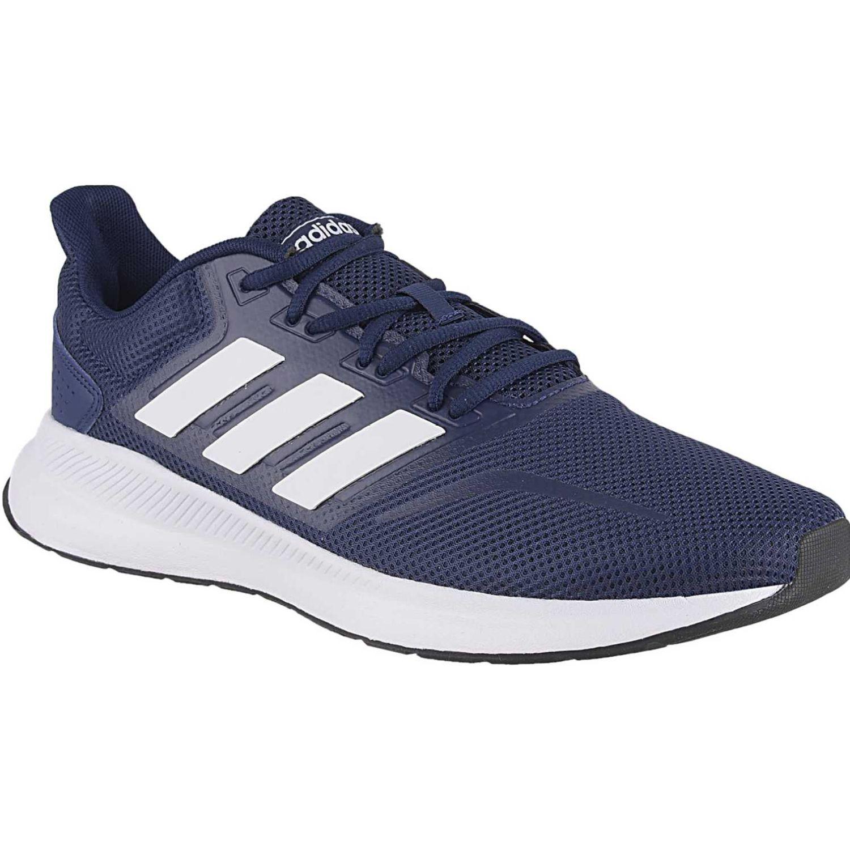 bb4a766c Zapatilla de Hombre Adidas Azul / blanco runfalcon | platanitos.com
