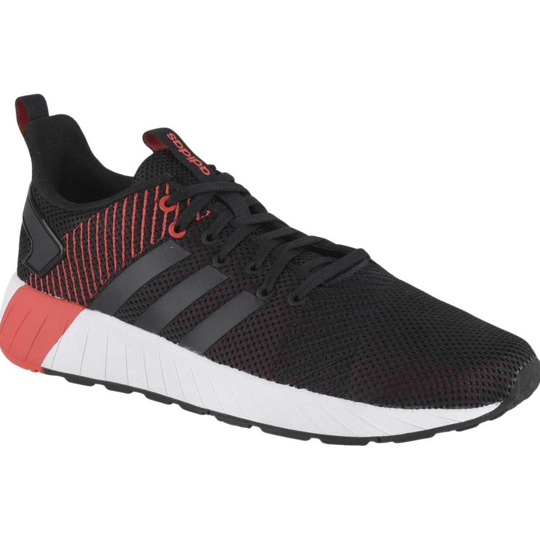 Adidas questar byd Negro / rojo Trail Running