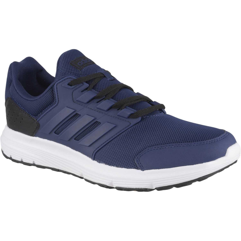 Adidas galaxy 4 Azul Running en pista