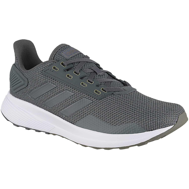 Adidas duramo 9 Plomo Running en pista