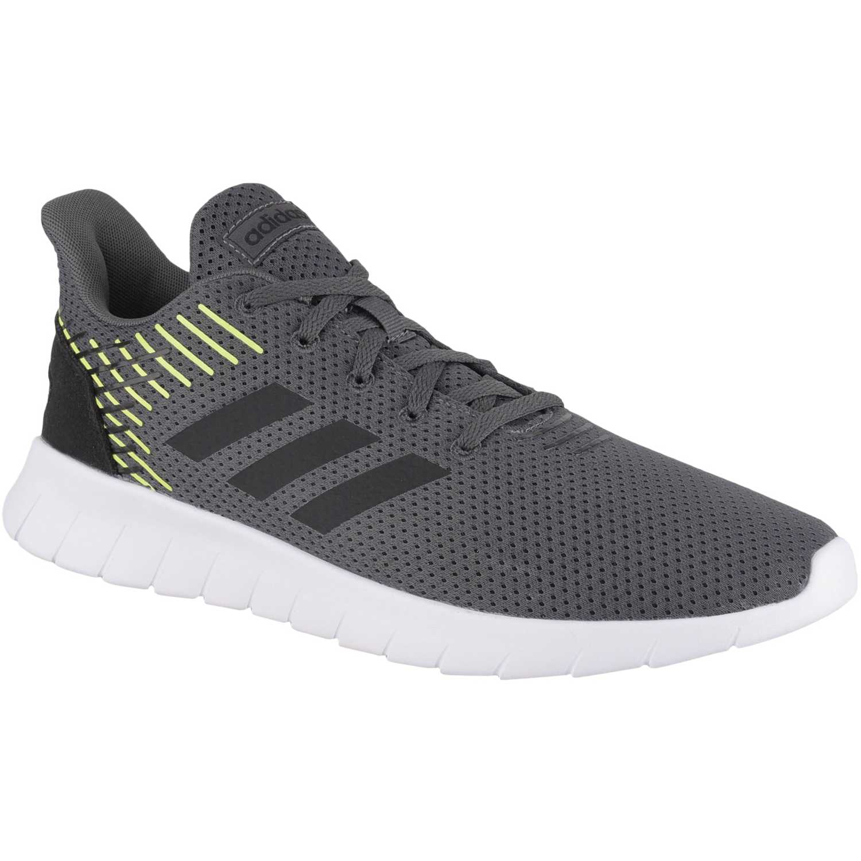 Adidas asweerun Plomo / verde