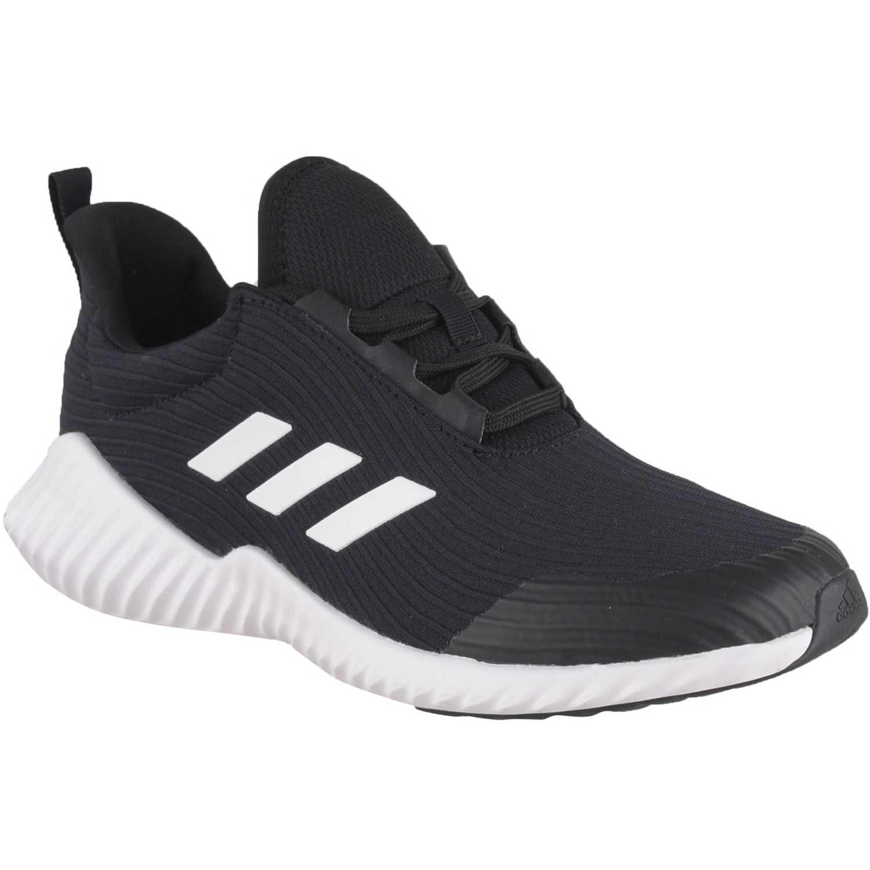 Adidas fortarun k Negro / blanco Muchachos