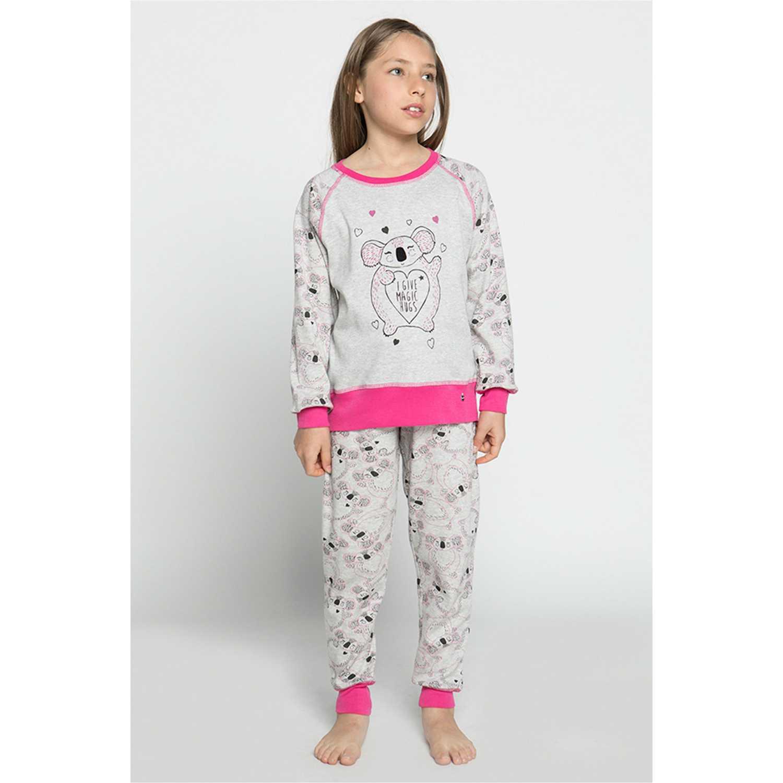 Pijamas de Niña Kayser Gris 63.1181-gri