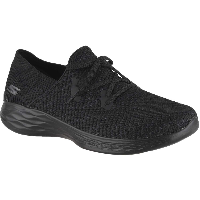 Zapatilla de Mujer Skechers Negro you - prominence