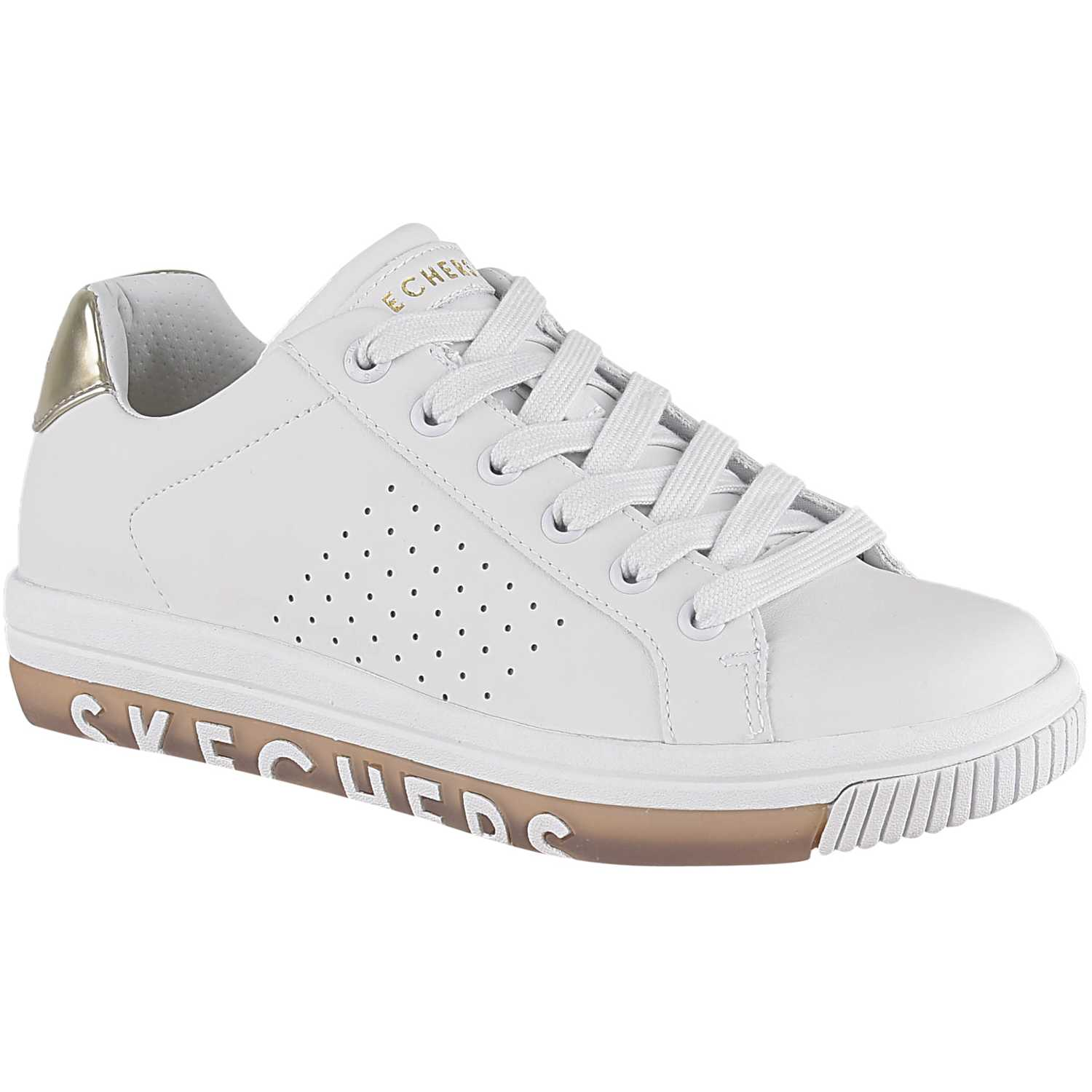 Casual de Mujer Skechers Blanco street sweet - step on it