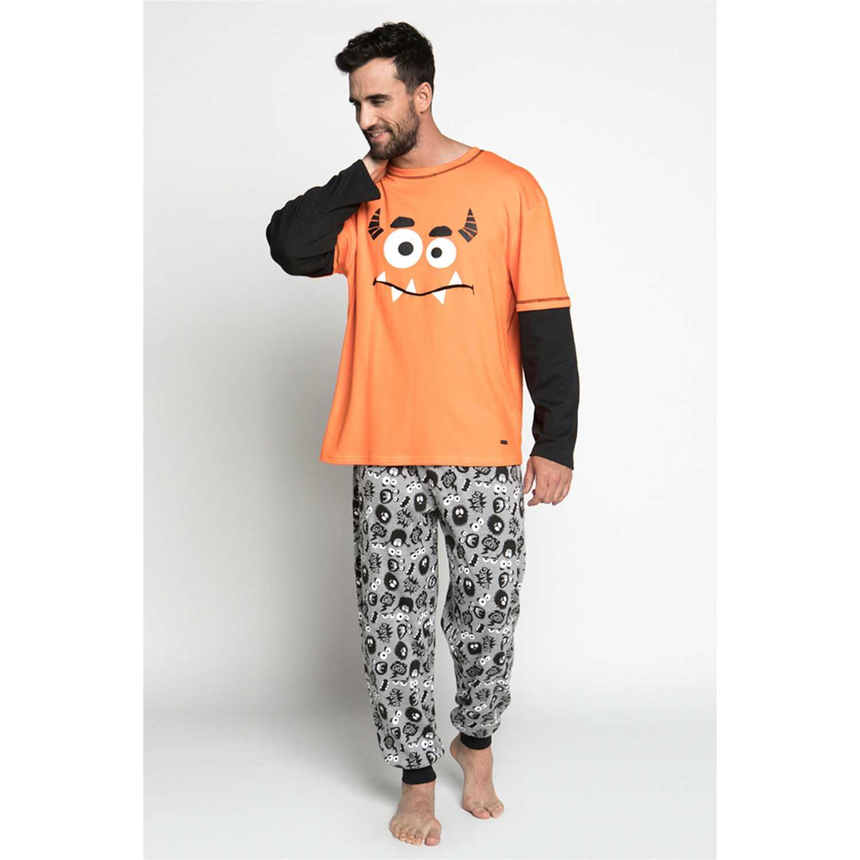 Pijamas de Hombre Kayser Naranja 67.1080-nar