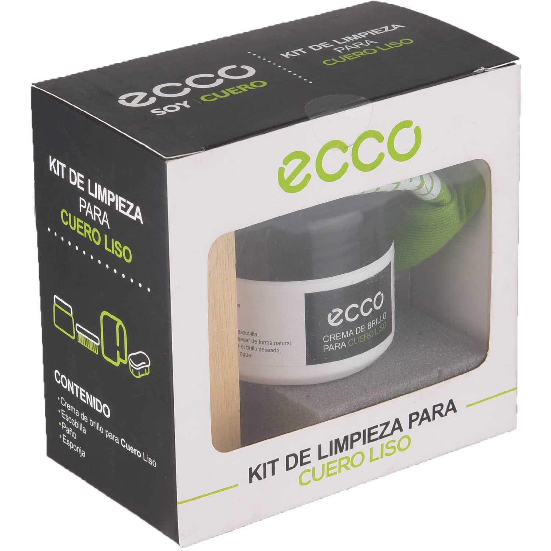 Ecco Cuero Liso Kit P/Calzado Incoloro Sets de cuidado y limpieza de calzado
