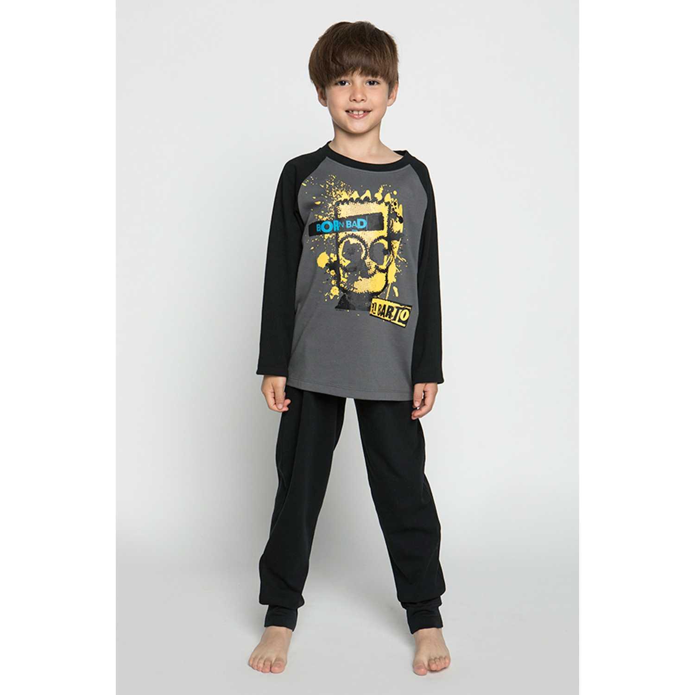 Pijama de Jovencito Kayser Negro s6441p-neg