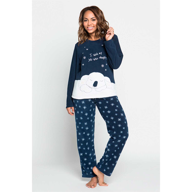 Kayser 60.1187-azu Azul Pijamas y Camisetas de Dormir