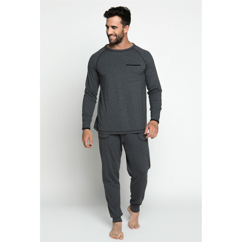 Pijamas de Hombre Kayser Grafito 67.1068-gra