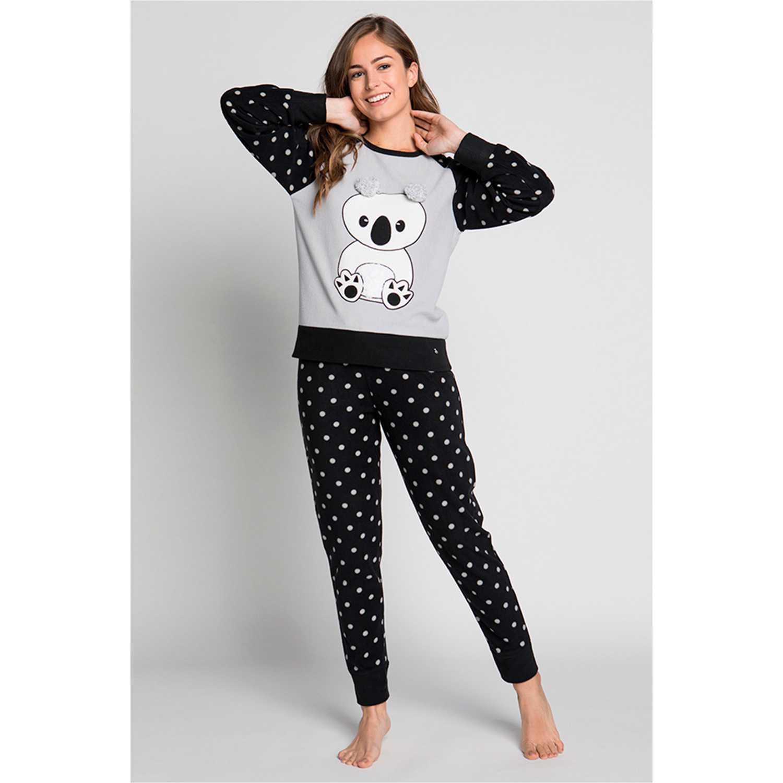 Pijamas de Mujer Kayser Negro 60.1189-neg