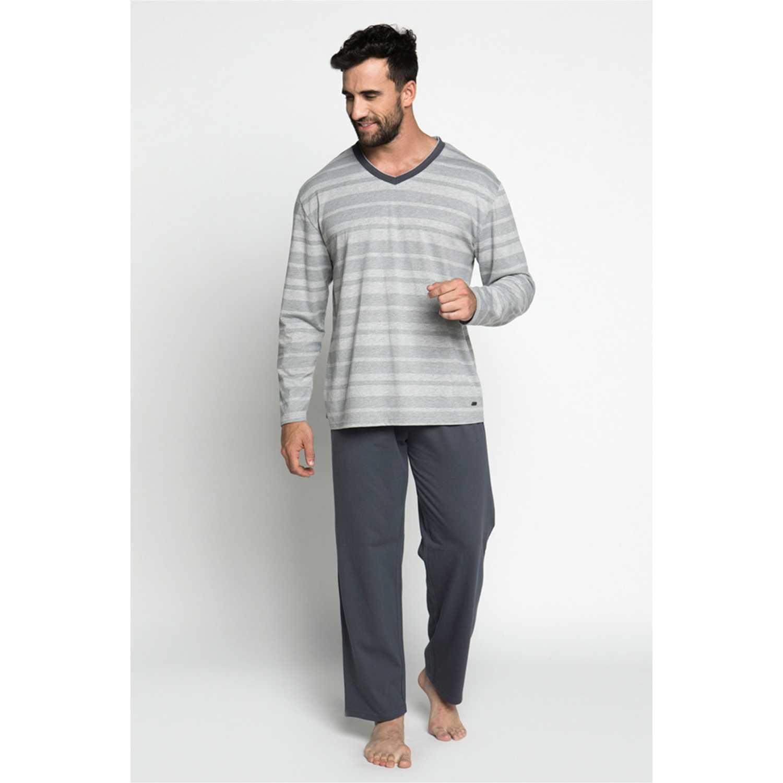 Pijama de Hombre Kayser Grafito 67.1061-gra