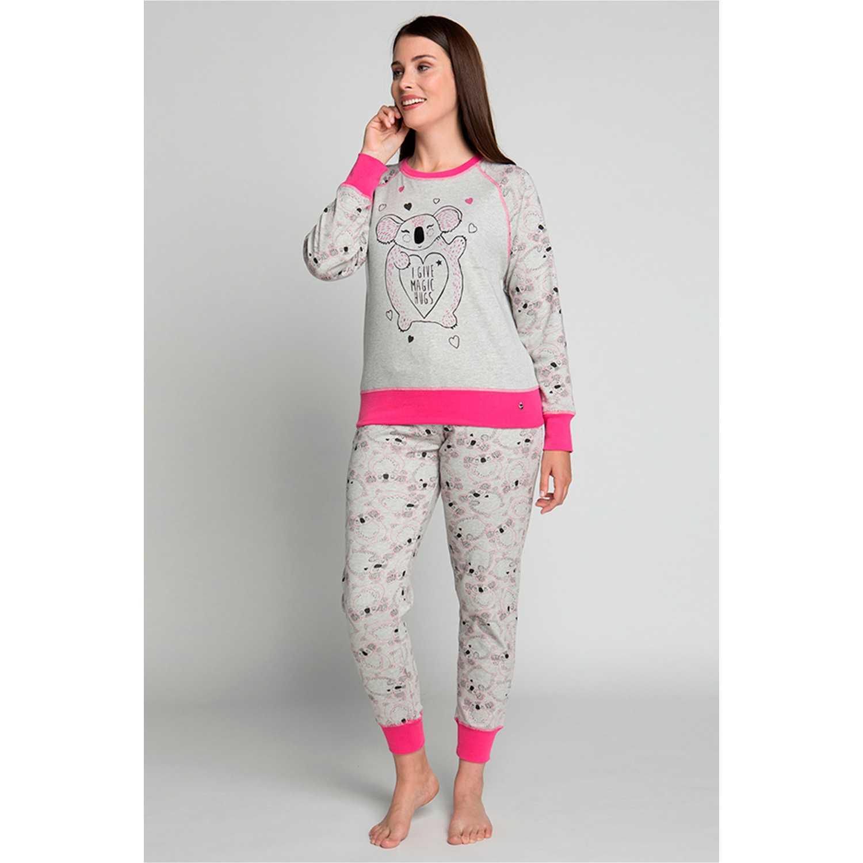 Pijamas de Mujer Kayser Gris 60.1181-gri