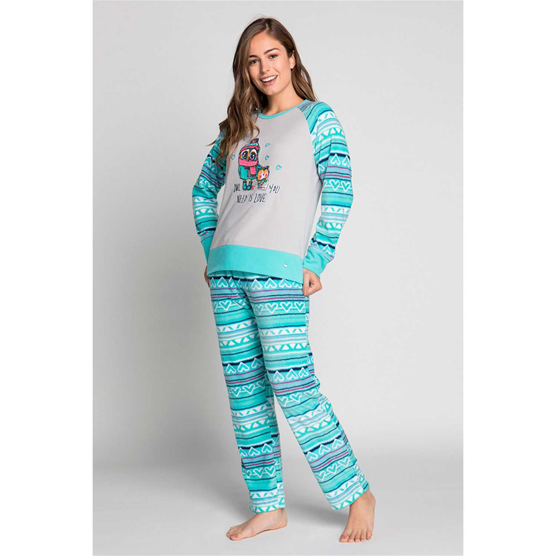 Pijama de Mujer Kayser Esmeralda 60.1191-esm