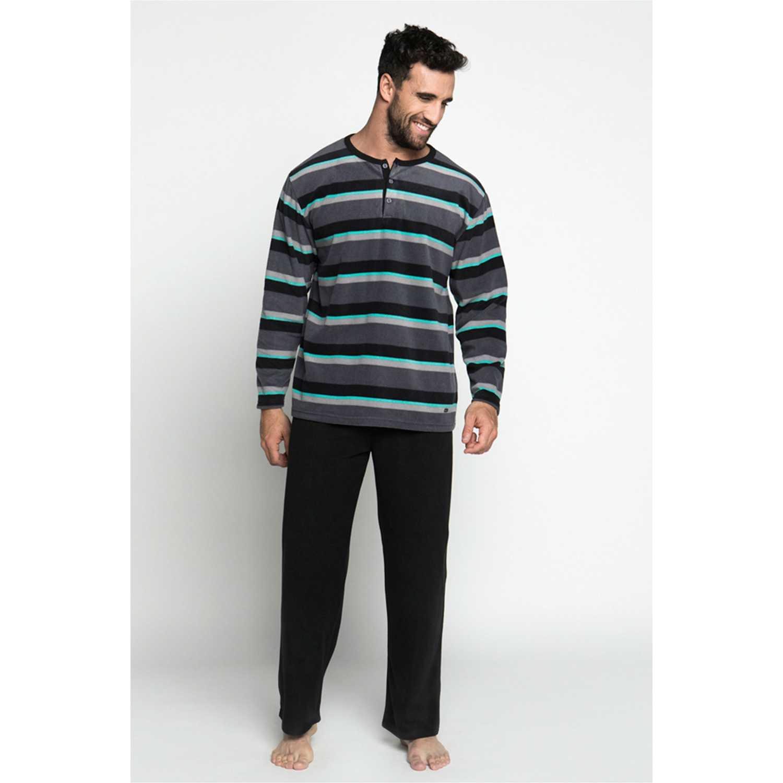 Pijama de Hombre Kayser Negro 67.1073-neg