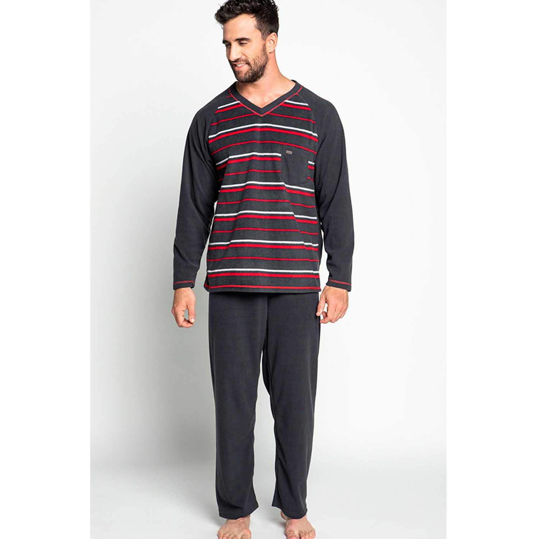 Pijama de Hombre Kayser Grafito 67.1074-gra