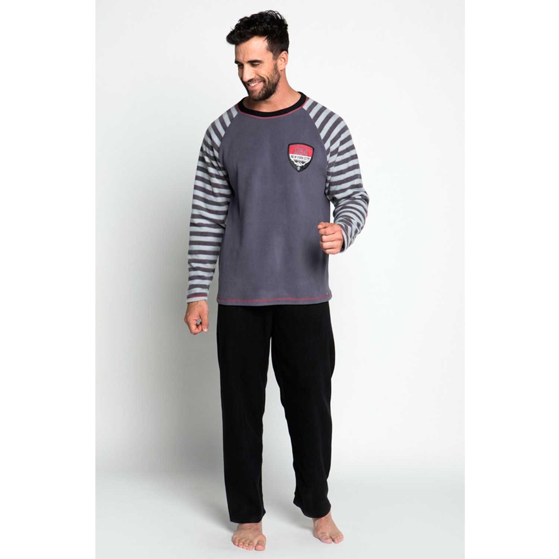 Pijama de Hombre Kayser Gris 67.1075-gri