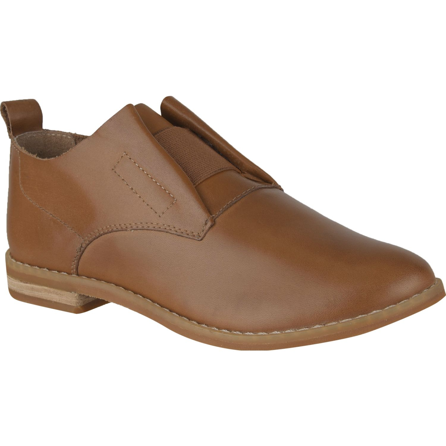 Hush Puppies annerley clever Tan Oxfords