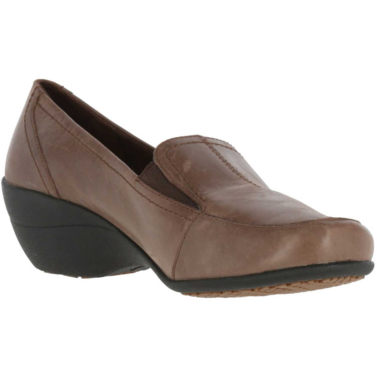 Hush Puppies kana slip on Marron Flats