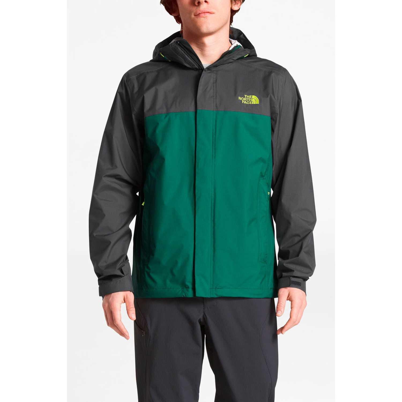 Casacas de Hombre The North Face Negro / verde m venture 2 jacket