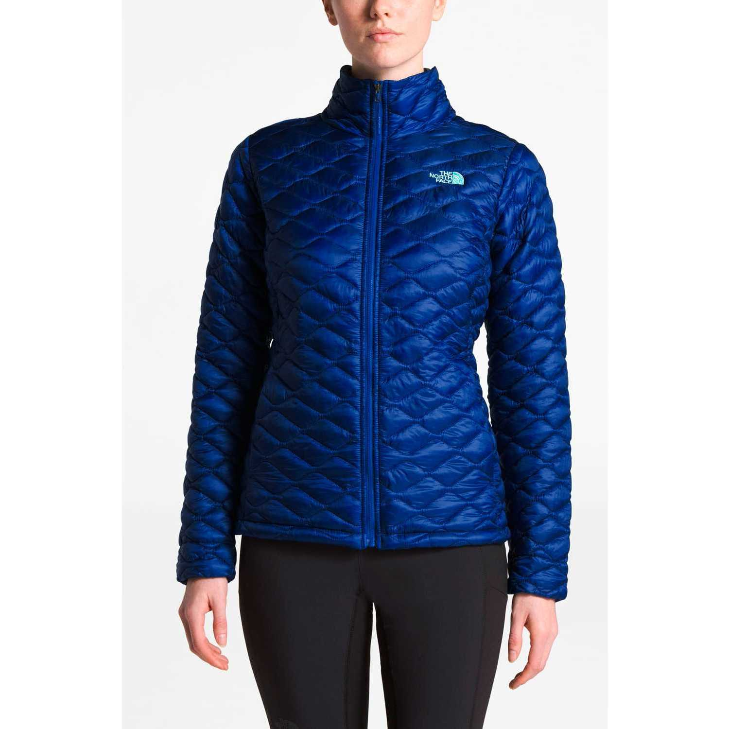 The North Face w thermoball jacket Azul Plumas y alternos