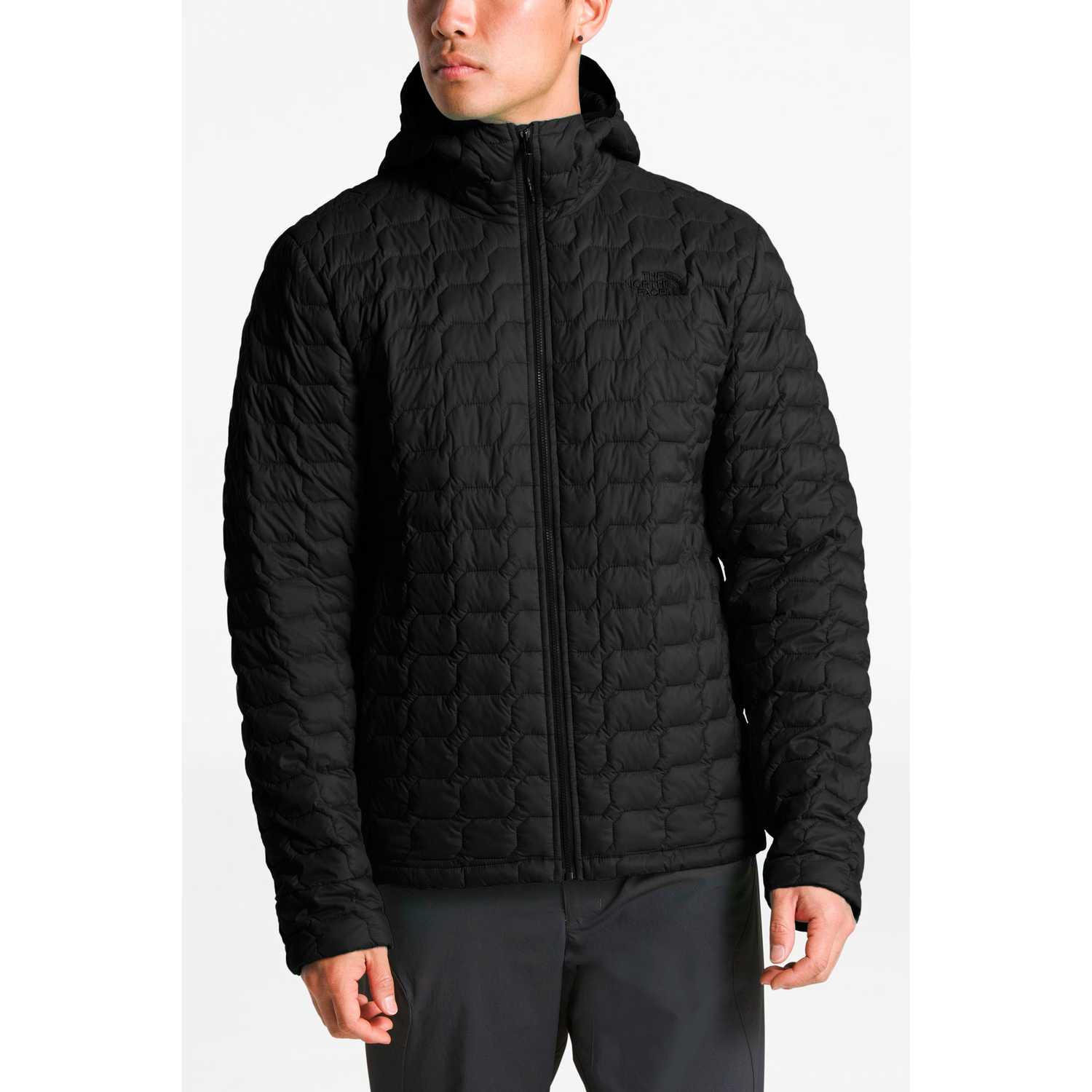 Casacas de Hombre The North Face Negro m thermoball hoodie